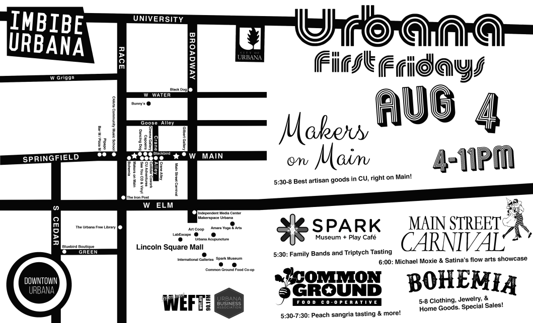 Aug Front Urbana First Fridays Map.png
